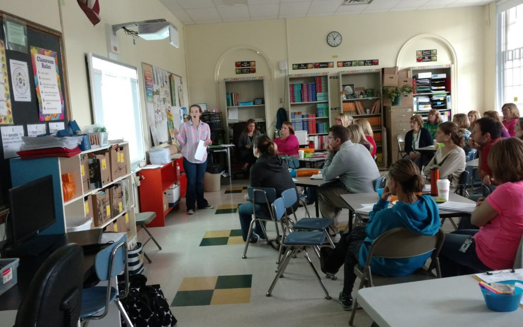 Staff Come Together for Professional Development Day