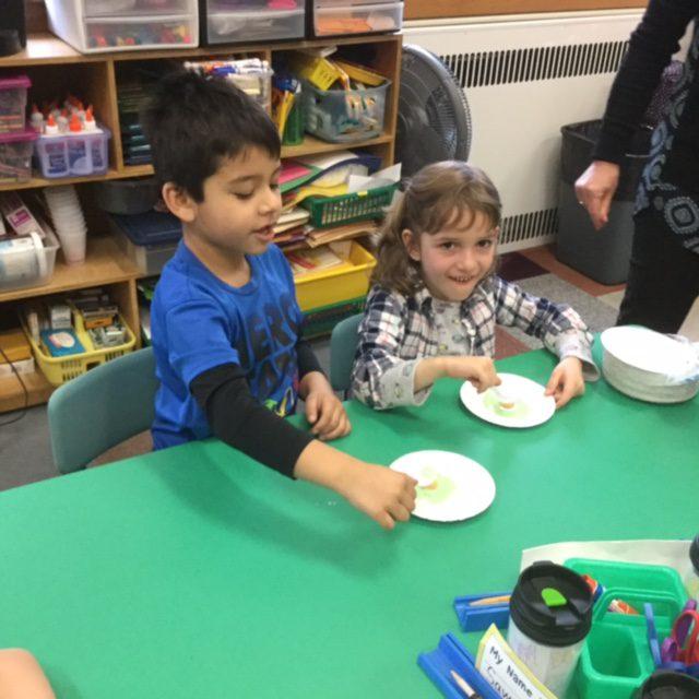 Kindergarten Students Celebrate Dr. Seuss's Birthday