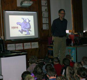 Author Matt McElligott
