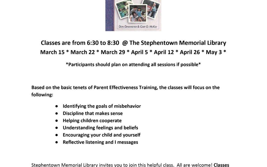 Free Parenting Classes