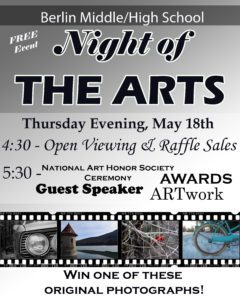 Night of the Arts Flyer