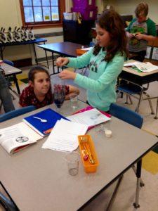 Students making Teraniums
