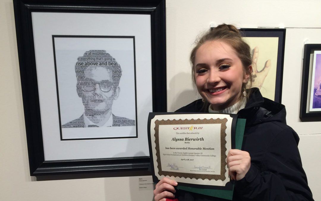 Students Art Work Selected for Exhibit