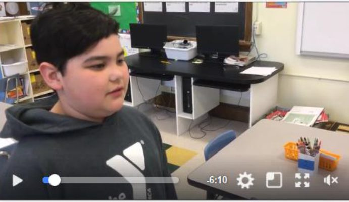 Students Create Video About Self-Control