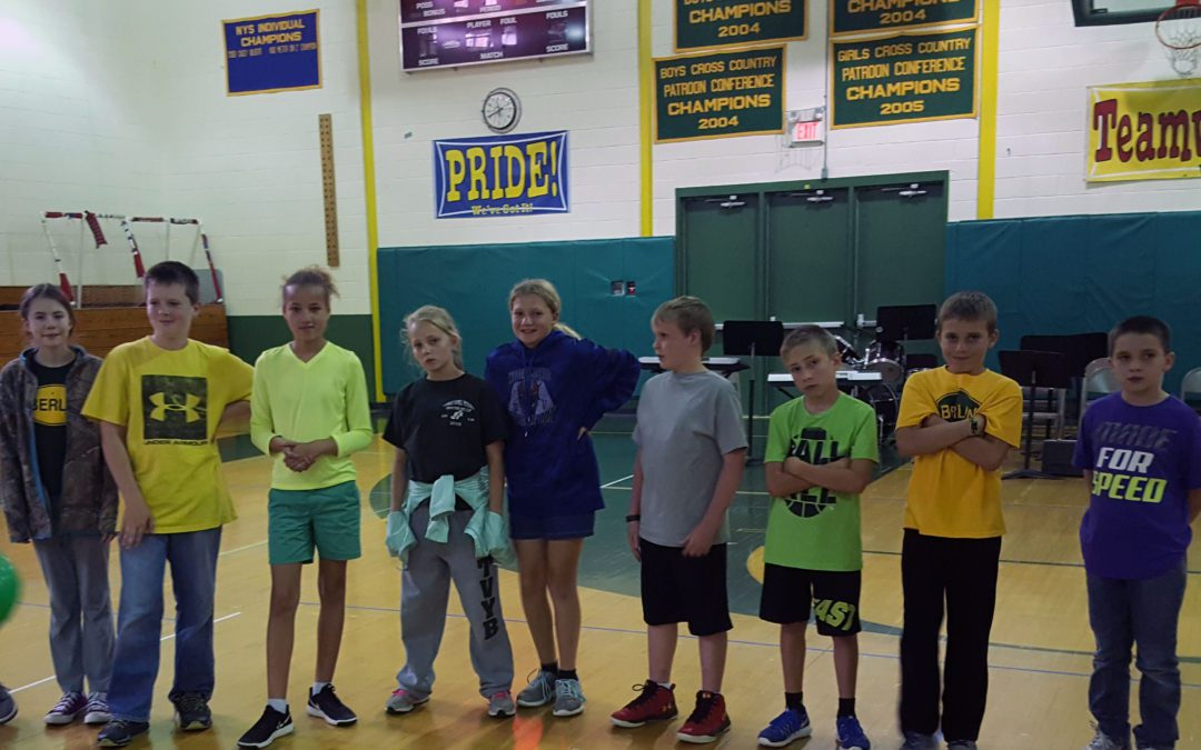 Fifth Grade Visiting Day