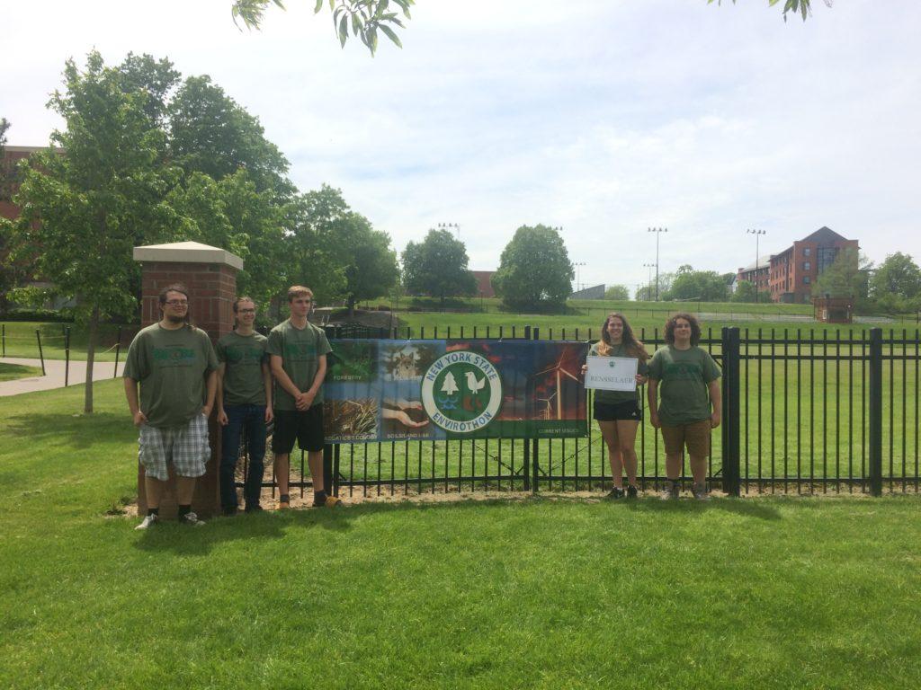 Berlin High School Envirothon team