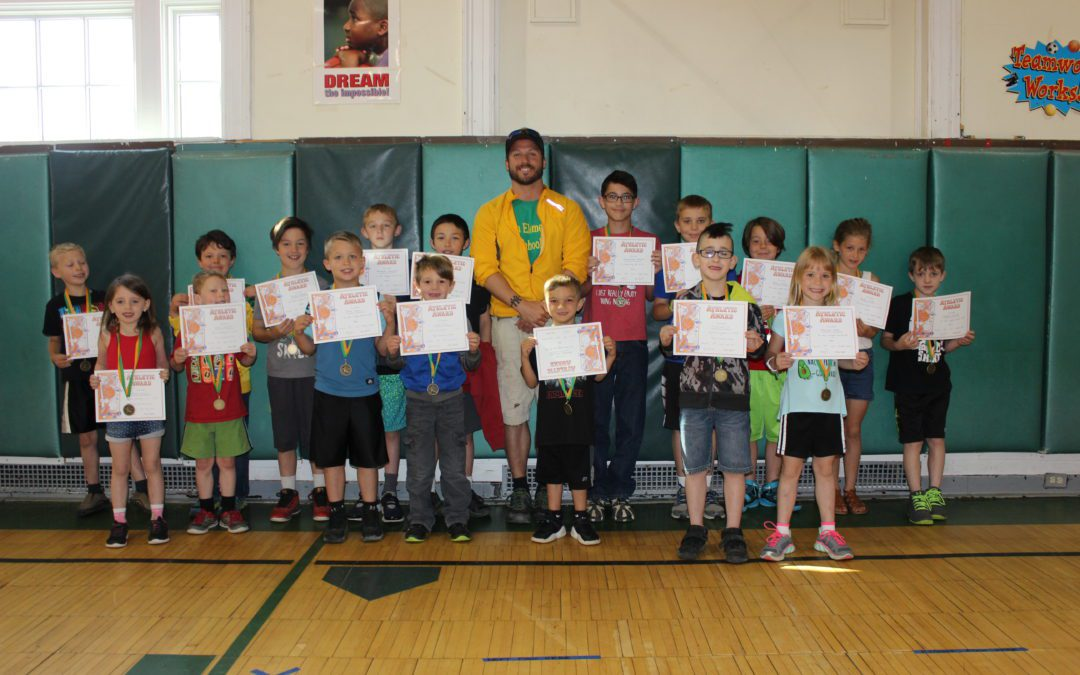 BES Spring Fitness Medal Winners