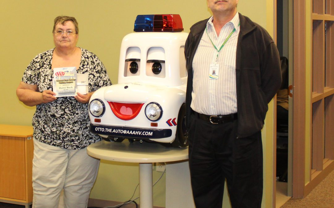 Bus Driver Receives Award from AAA Hudson Valley