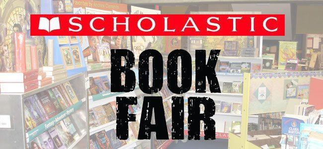 BES Scholastic Book Fair Oct 10-13