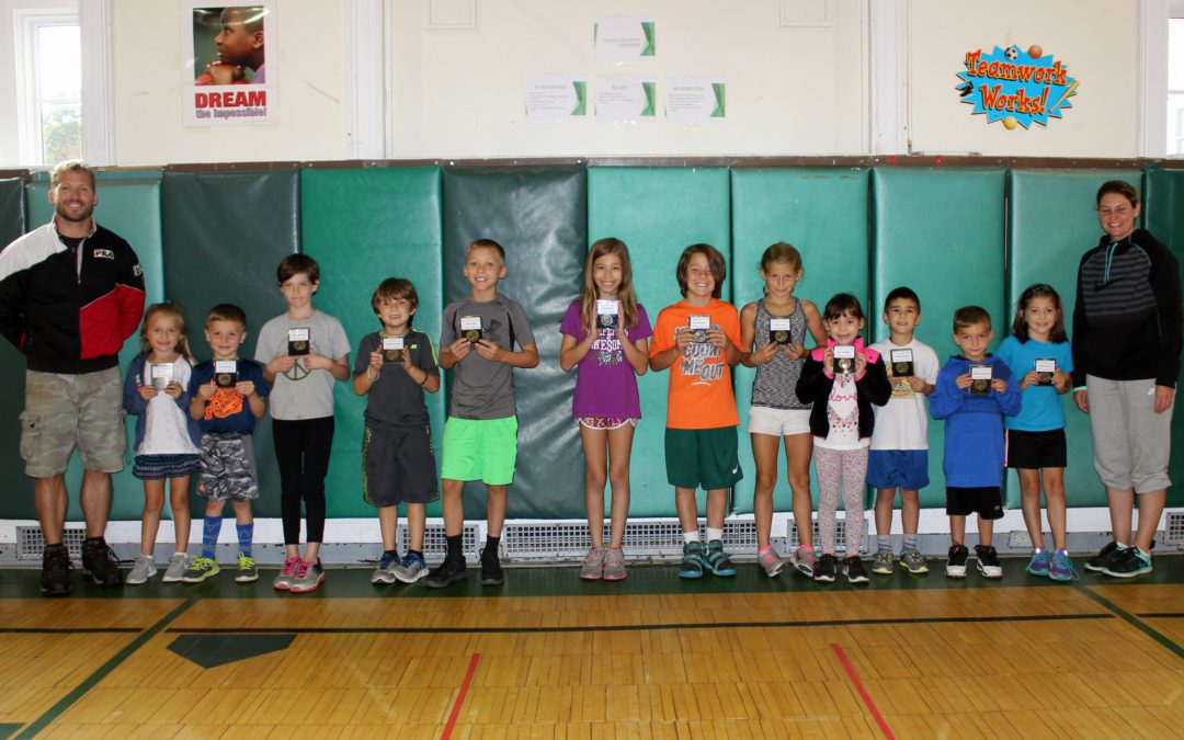 Fall Fitness Medal Winners