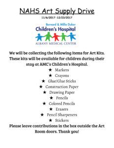 Art Supply Flyer