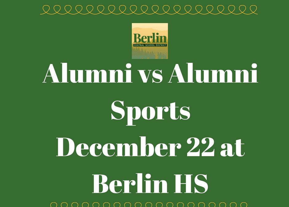 Alumni vs Alumni Sports return to Berlin HS