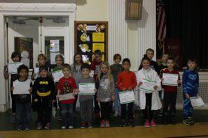 Students who won awards