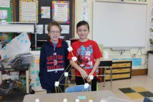 Winners of Marshmallow Challenge