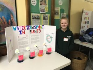 Student at BES Science Night