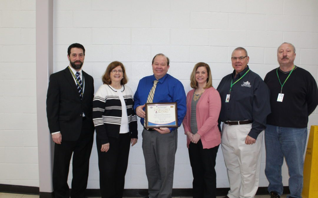 District Receives School Safety Excellence Award
