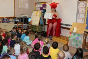 cast reading to students