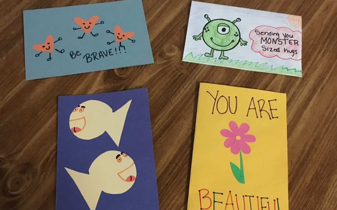 Students Create Cards for Hospitalized Children