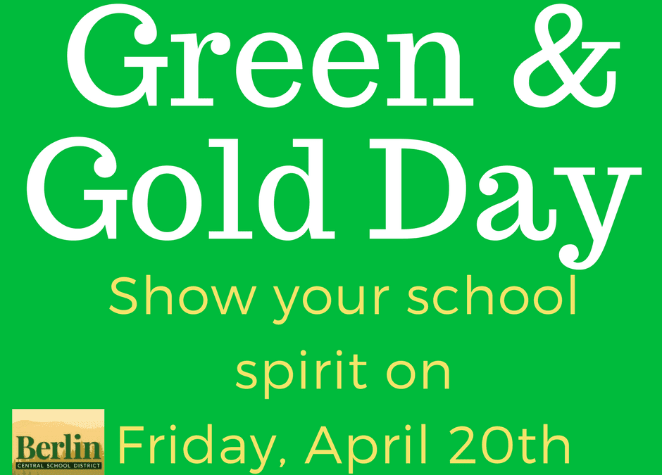 BES Green & Gold Day