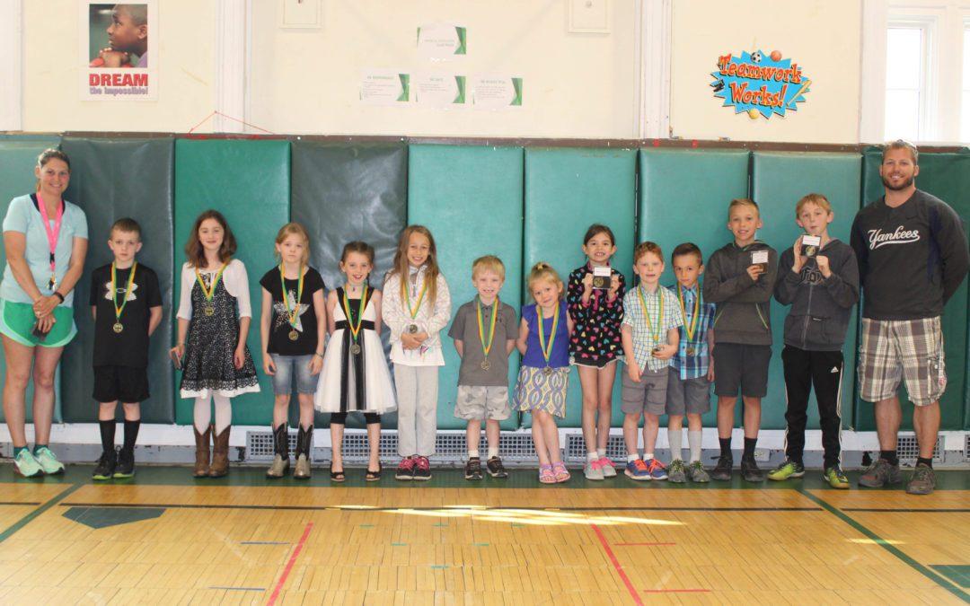BES Spring Fitness Medal Winners
