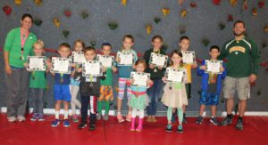 students holding certificate