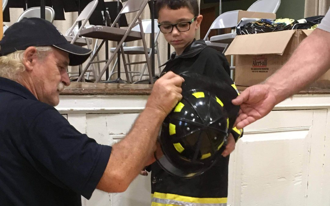 BES Students Learn Fire Safety from Firefighters