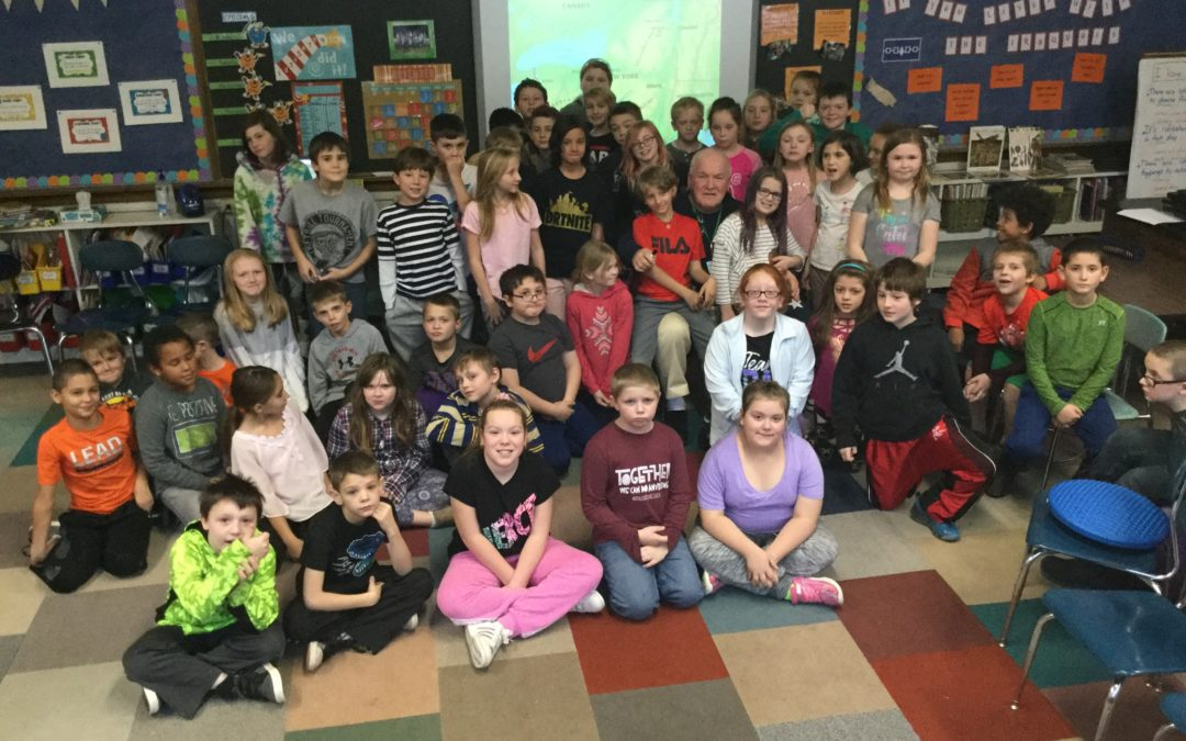 Students learn about Erie Canal