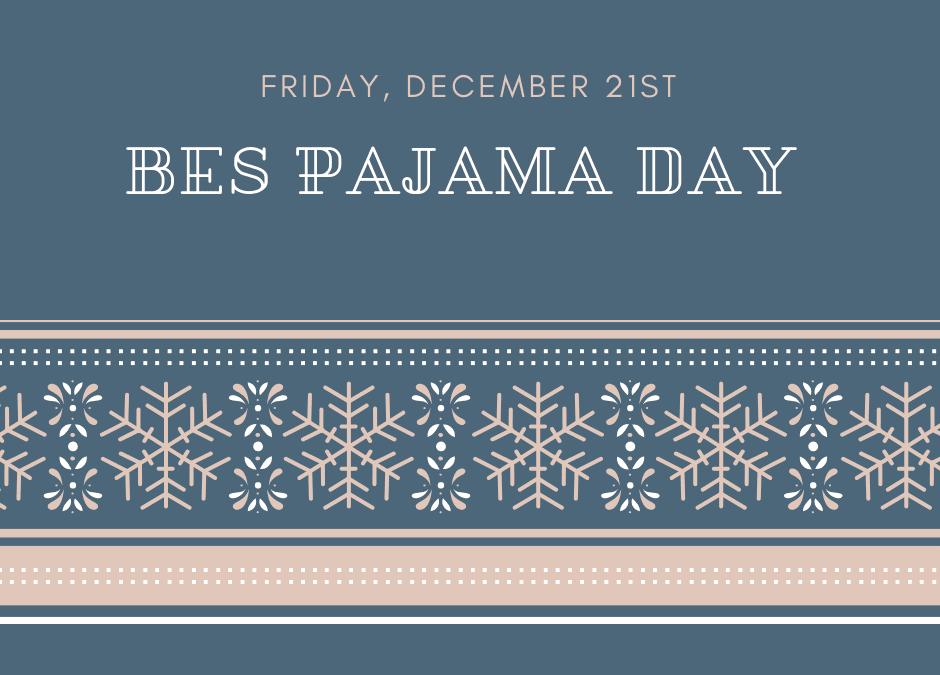 BES Pajama Day