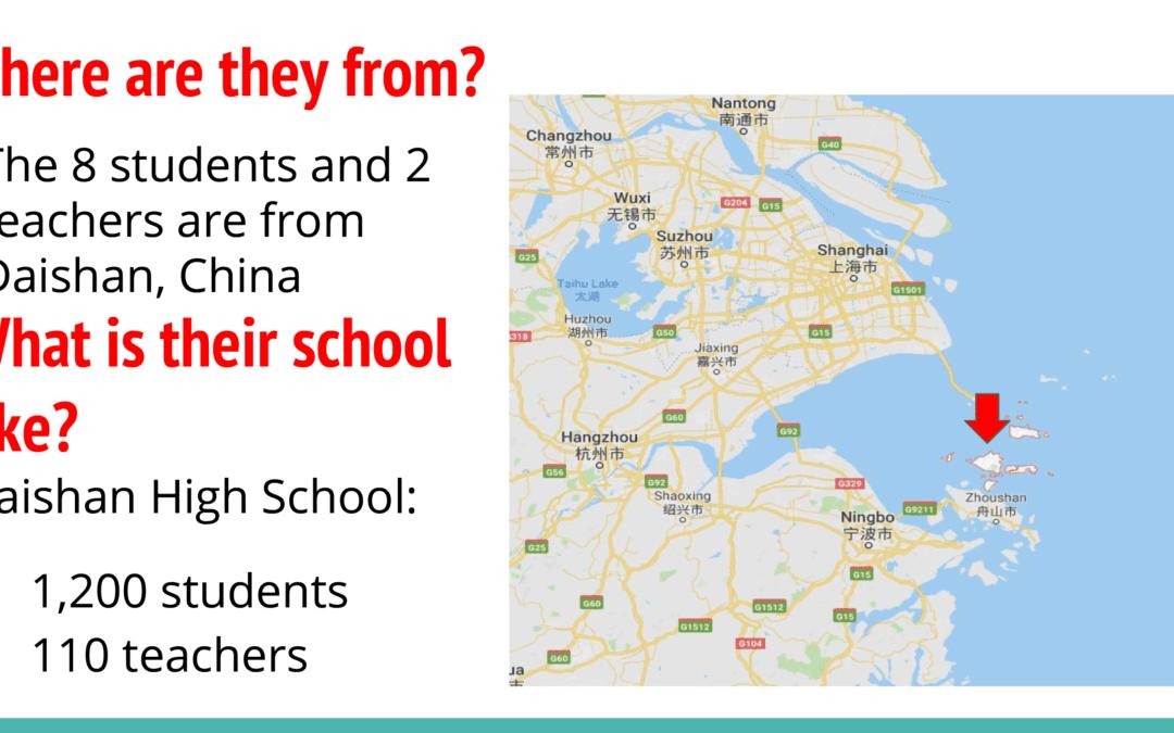 Chinese Student Visit – Feb. 3-10