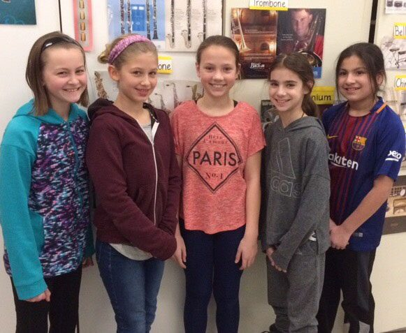 BES Students to Participate in All County Band
