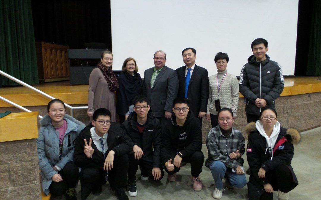 Chinese Students Visit Berlin CSD