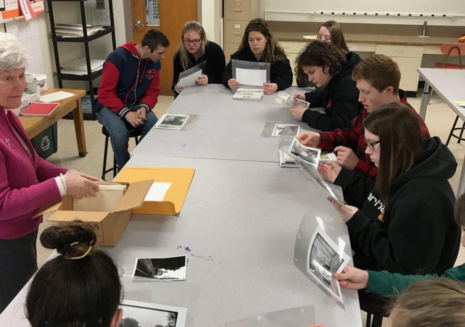 Students Visit Stephentown Historical Society