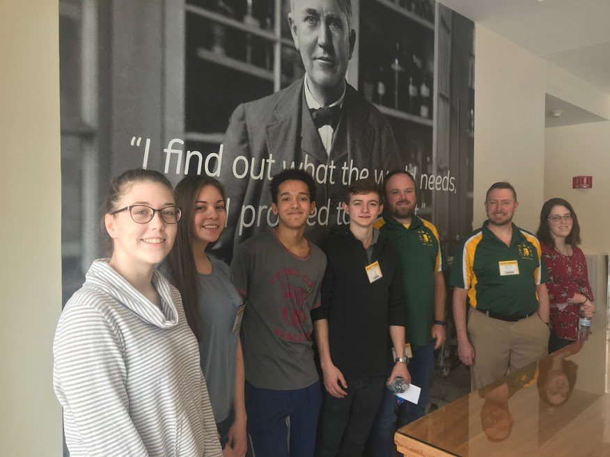 Berlin Middle-High School Competes at 2019 Science Bowl