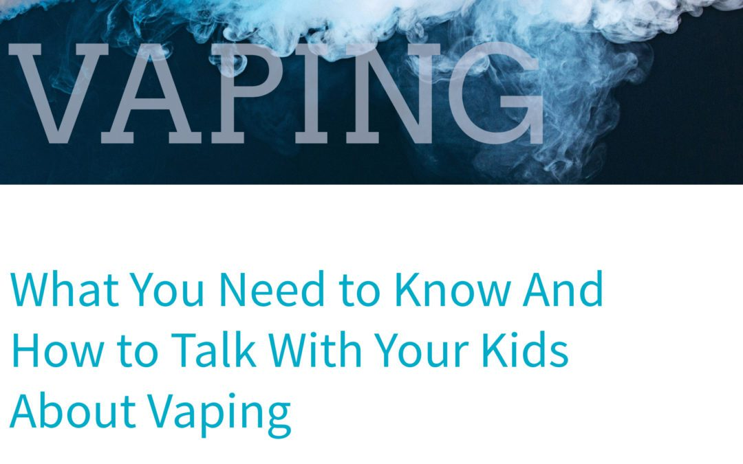 District Shares Information With Parents About E-Cigarettes and Vaping