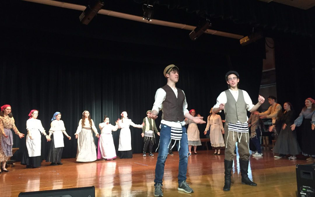 Berlin HS Dramateers Presents Fiddler on the Roof