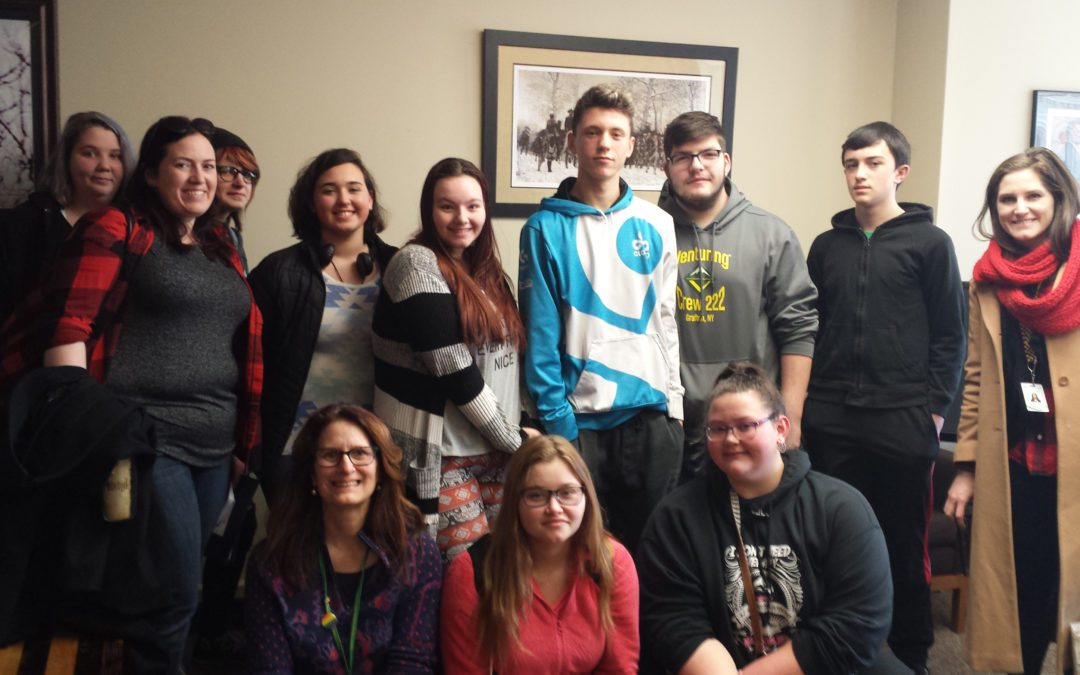 Berlin Students Visit State Capitol for Mental Health Matters Day