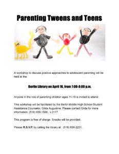 parenting flyer