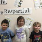 Christopher Goyer, Jayden MacMillen, Sean Soroka (2nd Grade)