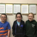 Anthony Wood, Liah Goewey, and Grace Pelletier (4th Grade)