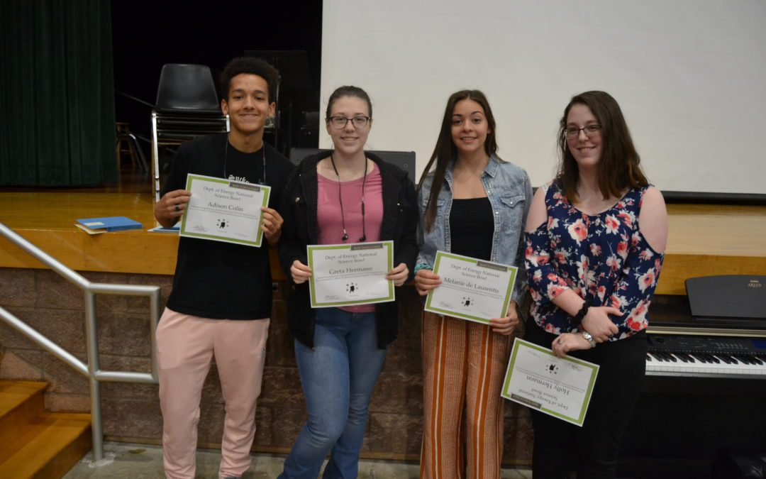 MSHS 3rd Quarter Academic Awards Ceremony