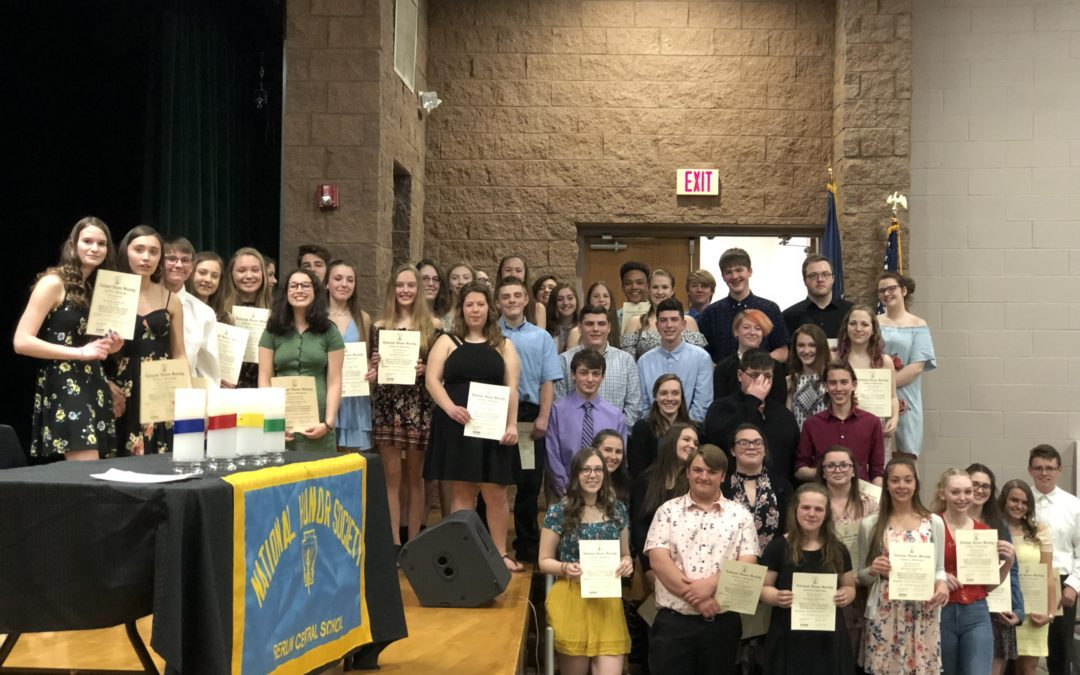 Berlin National Honor Society Induction 2019