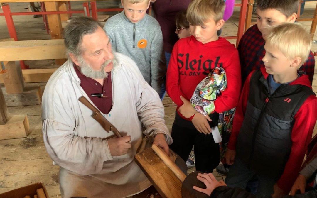 3rd Grade visits Hancock Shaker Village