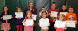 students with awards