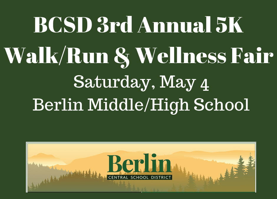 Berlin's 5k Walk/Run & Spring Wellness Fair