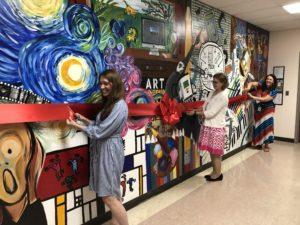 unveiling mural