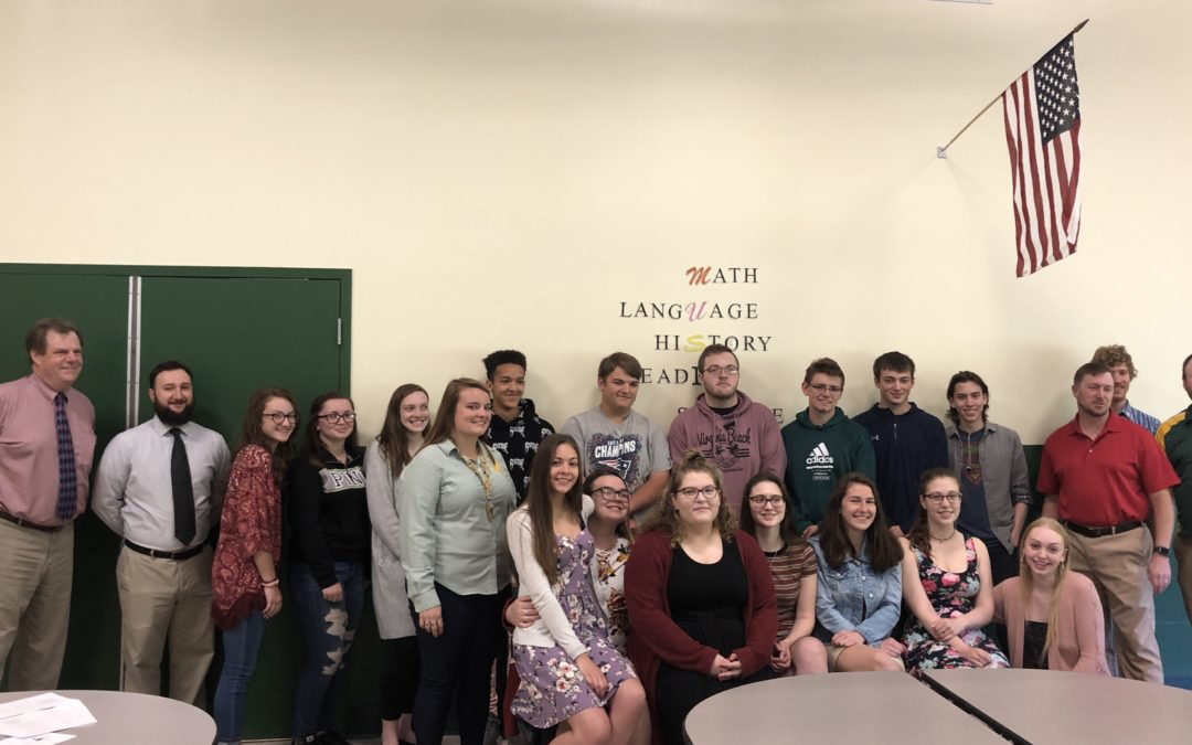 Nine new members inducted into NYSSHS