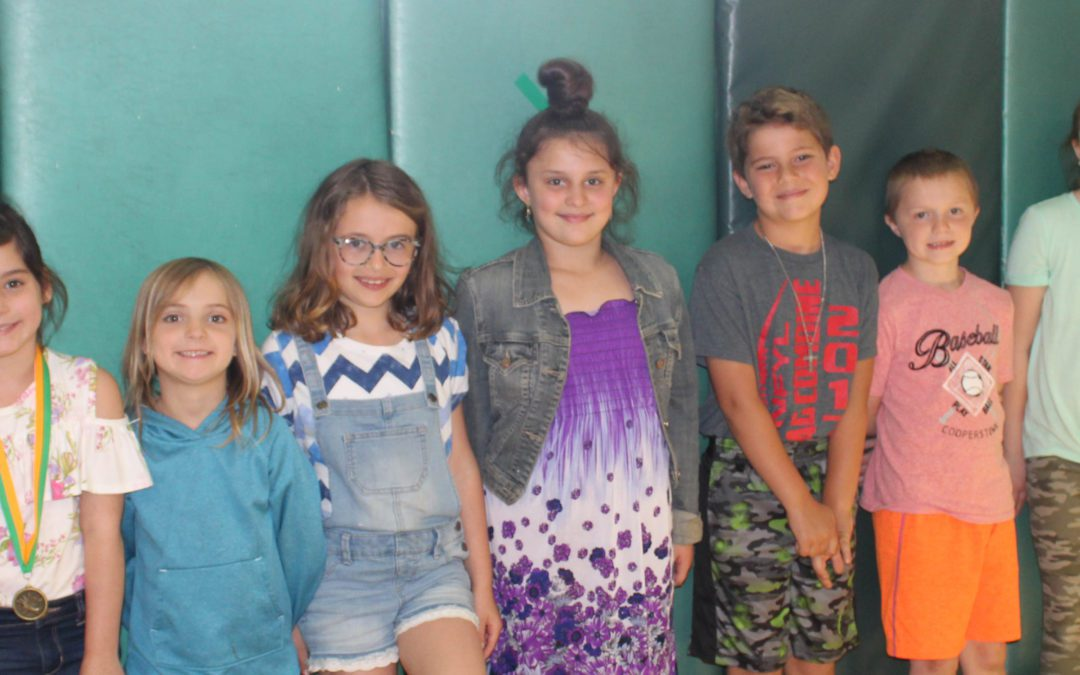 BES Students Show Appreciation at June Assembly