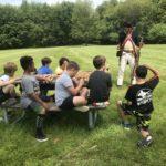 4th graders at Bennington Field