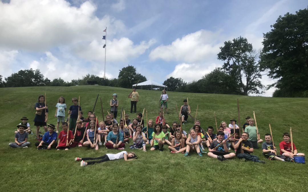 4th Grade Bennington Battlefield Trip