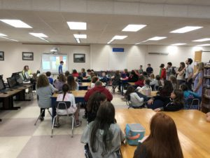 5th graders visit the middle school